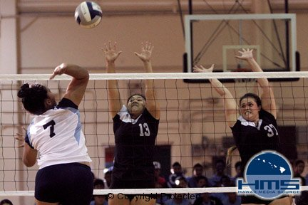 Photos: Saint Francis vs University High In Girls Volleyball