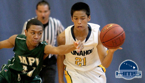 Photos: ILH Boys Intermediate I Punahou Gold vs MPI 12-8-12