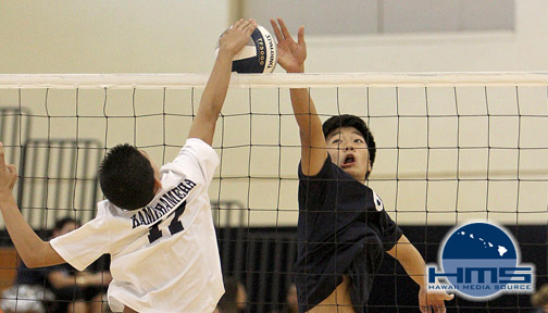 Photos: Kamehameha White vs Kamehameha Blue Intermediate Boys Volleyball