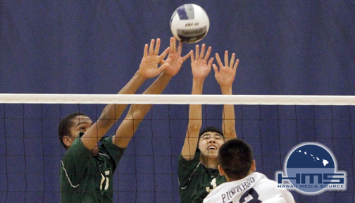 Photos: Boys Volleyall MPI vs Punahou