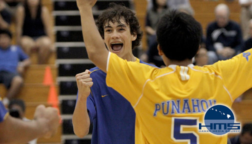 Photos: Punahou def. KS-Kapalama for D1 Boys Volleyball Title