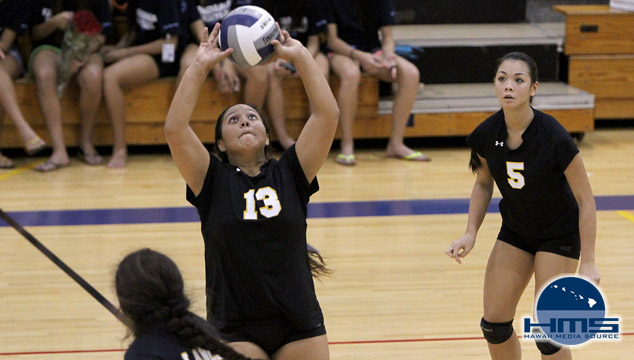 Kamehameha defeats Sacred Hearts in girls volleyball