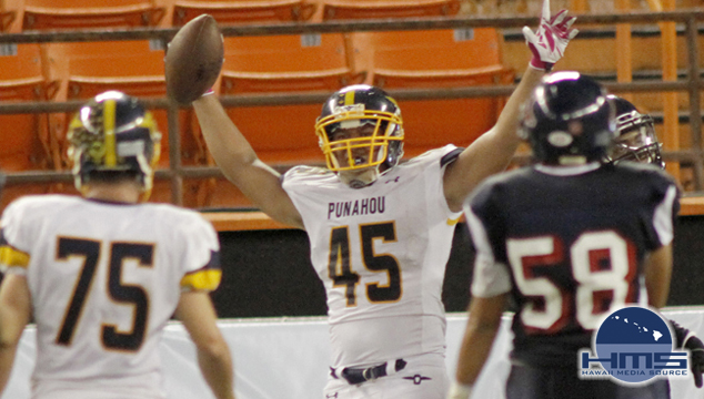 Punahou defeats Saint Louis in ILH varsity football