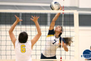 Punahou-Blue def. Sacred Hearts Academy in girls JV volleyball 2-0
