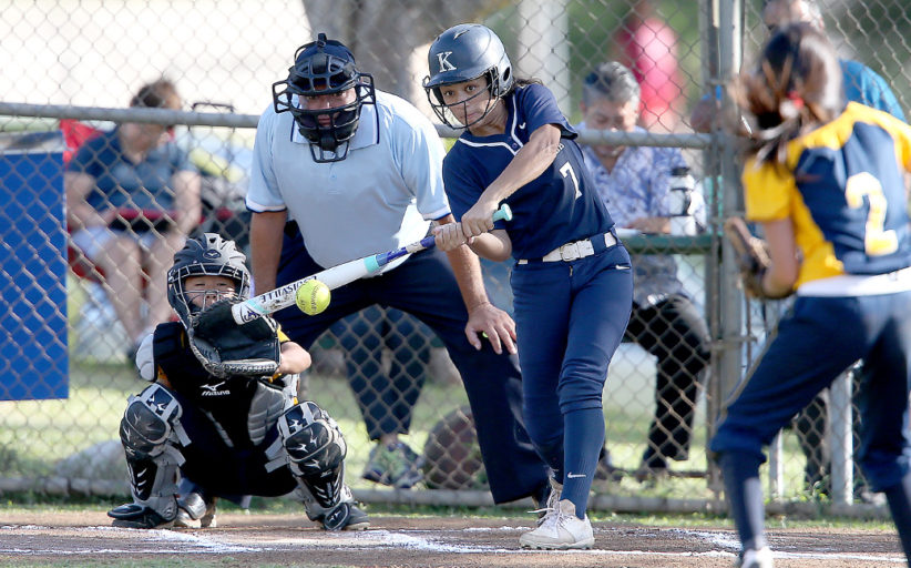 Intermediate Softball: Kamehameha vs Punahou