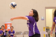 Intermediate Girls Volleyball Hanalani def. La Pietra