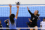 Girls Varsity D2 Volleyball: Mid Pacific def. Saint Francis in five