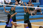 Girls Varsity D2 Volleyball: University def. La Pietra in four