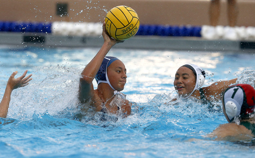 Kamehameha def. Mid-Pacific in girls water polo 16-1