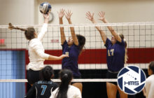 Damien def. King Kekaulike in girls volleyball