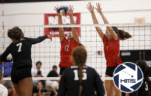 Iolani def. Sage Hill in girls volleyball