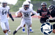 Kamehameha vs Iolani in Intermediate Football