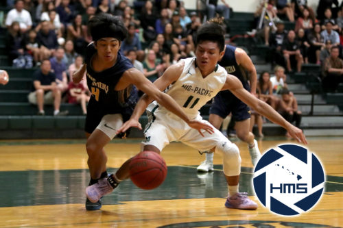 Punahou def. Mid Pacific in Boys Varsity 1 Basketball