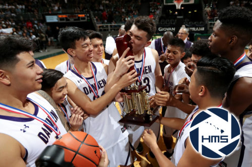 Damien def. Farrington for Boys D2 Basketball State Title