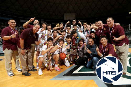 Maryknoll def. Punahou for Boys D1 State Basketball Title