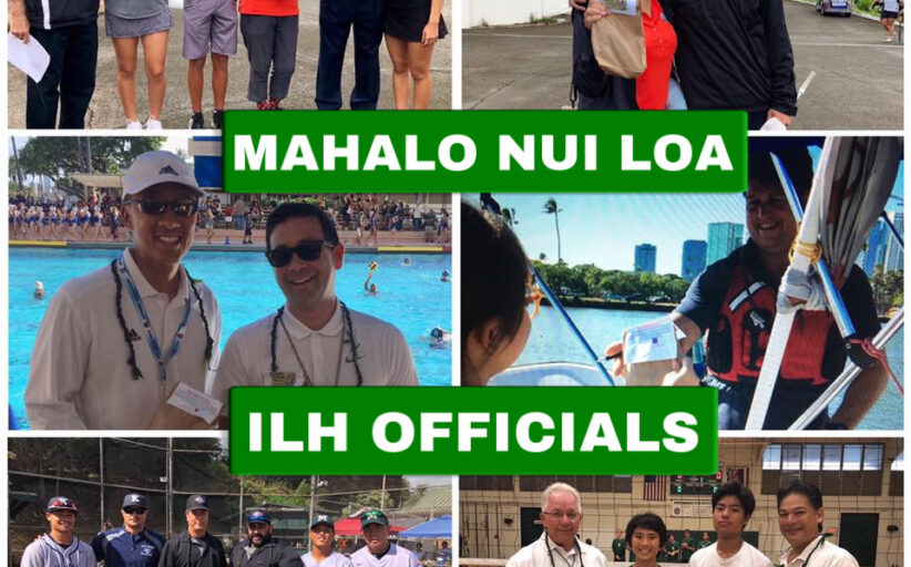 Mahalo to ALL Game & Event Officials