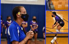 Remember 9-11 at Girls Intermediate Volleyball